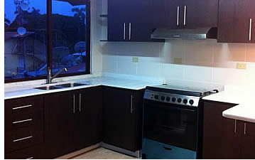 Kitchen at Bocas Town Apartments