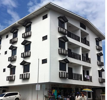The building of Bocas Town Apartments is very well insulated from the noise of Bocas del Toro