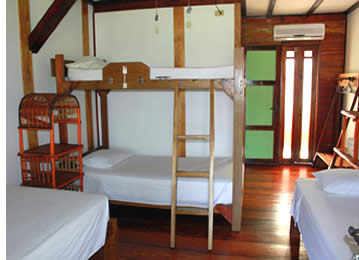 Hotel Cala Luna has 8 rooms that come in different configurations